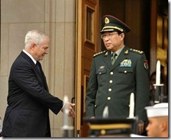 General Xu Robert Gates