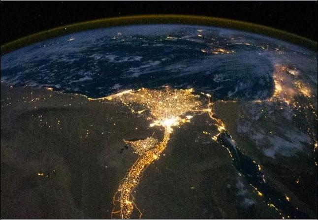 Lights Still On In Egypt